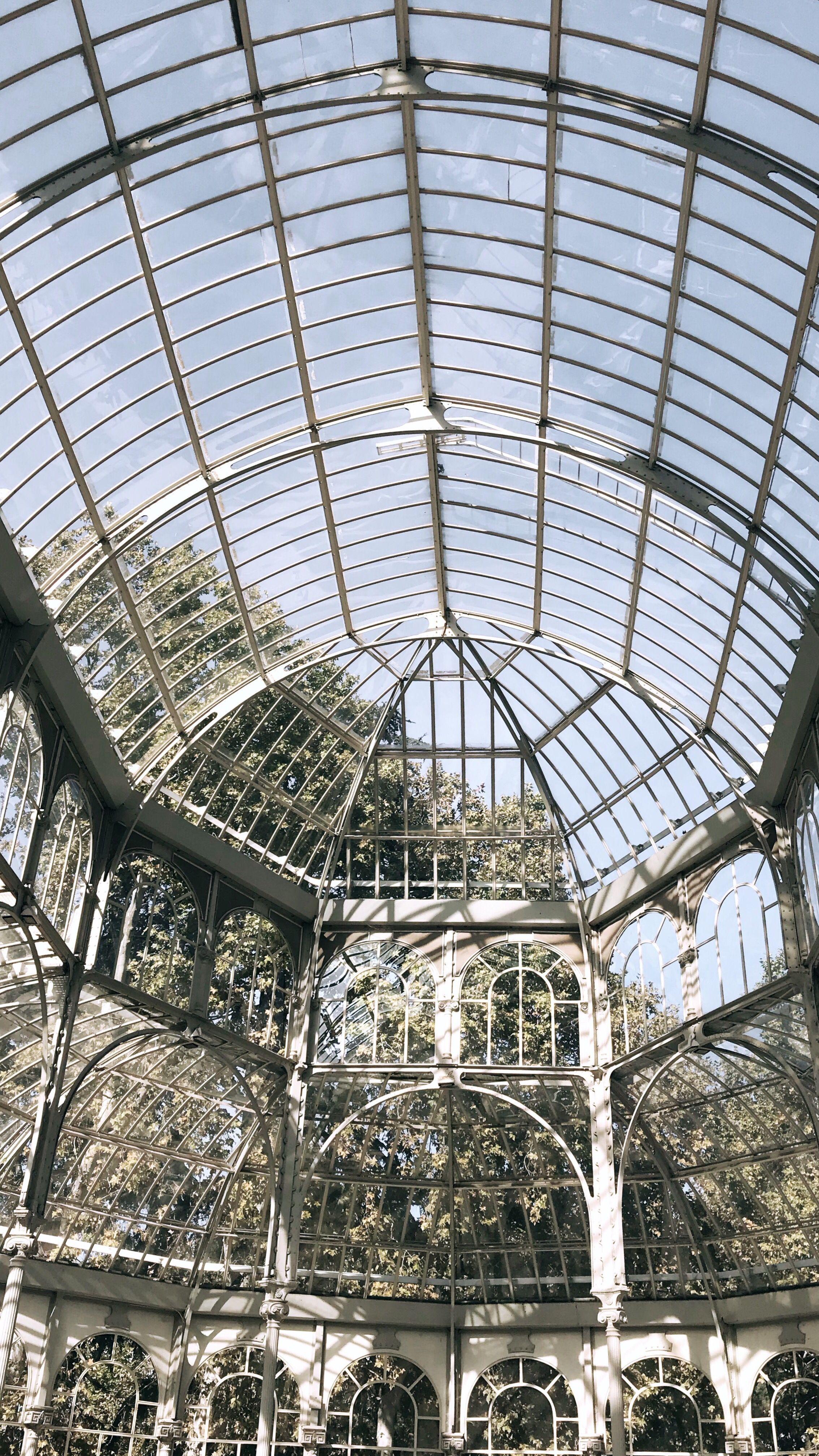 Palacio de cristal-Madrid