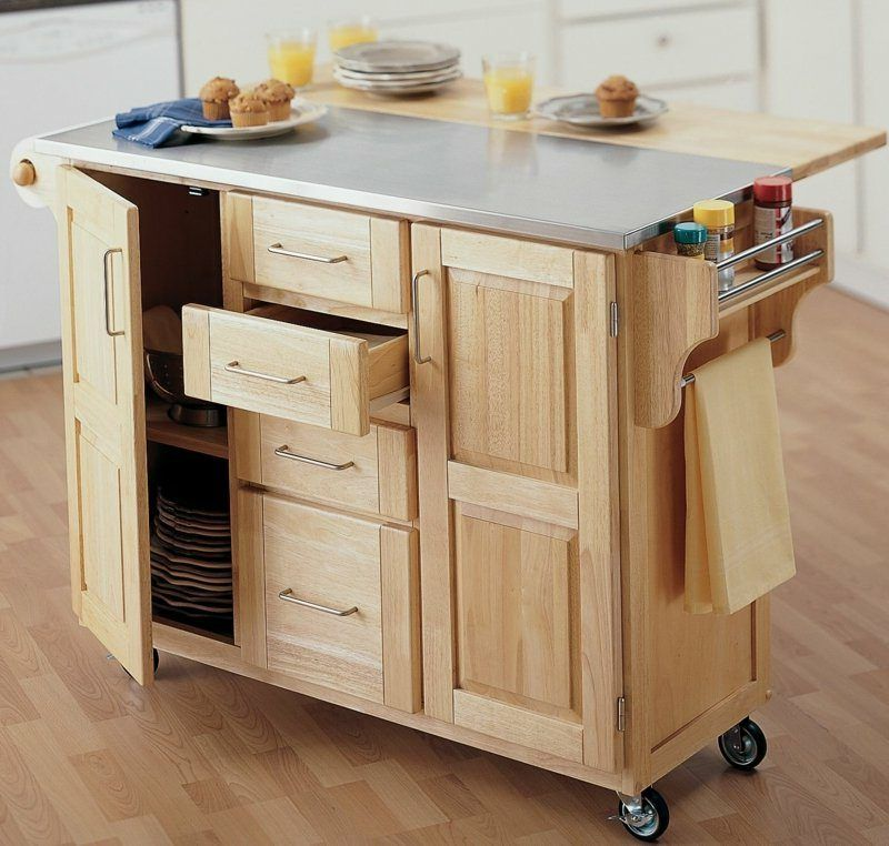 Build your own kitchen island \u2013 ideas for creative kitchen design