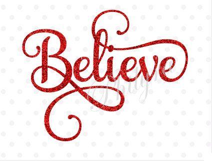 Believe Believe Svg Winter Svg Christmas Svg She Believed Etsy Christmas Svg Christmas Svg Files Winter Svg