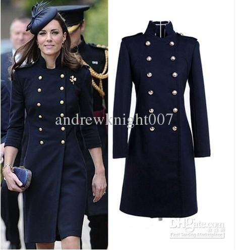 Military Coat Dress | Down Coat