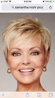 Coiffures courtes 2019 plus de 50 ans | Modele cheveux court, Modele coiffure cheveux courts ...