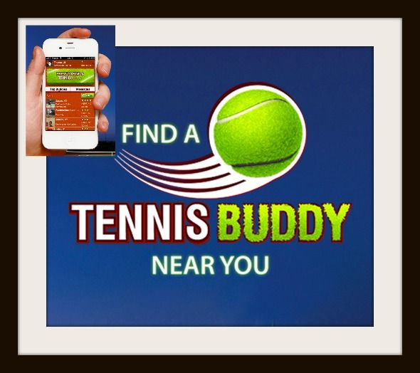Find Fitness Friends with Tennis Buddy #buddy #Fitness #friends #tennis