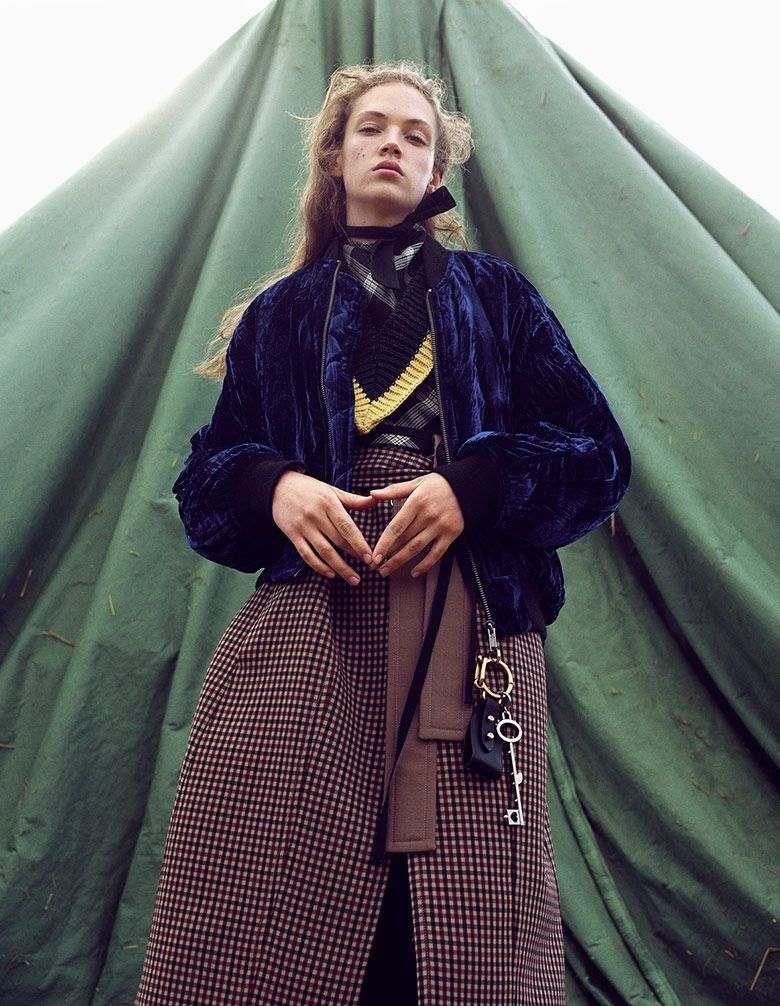 Adrienne Jüliger by Sharif Hamza for Interview Germany June/July 2016 | The…