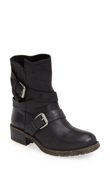 Lucky Brand  Dallis  Moto Boot (Women) available at  Nordstrom (Moto boots  size 8) dafedeca4af3