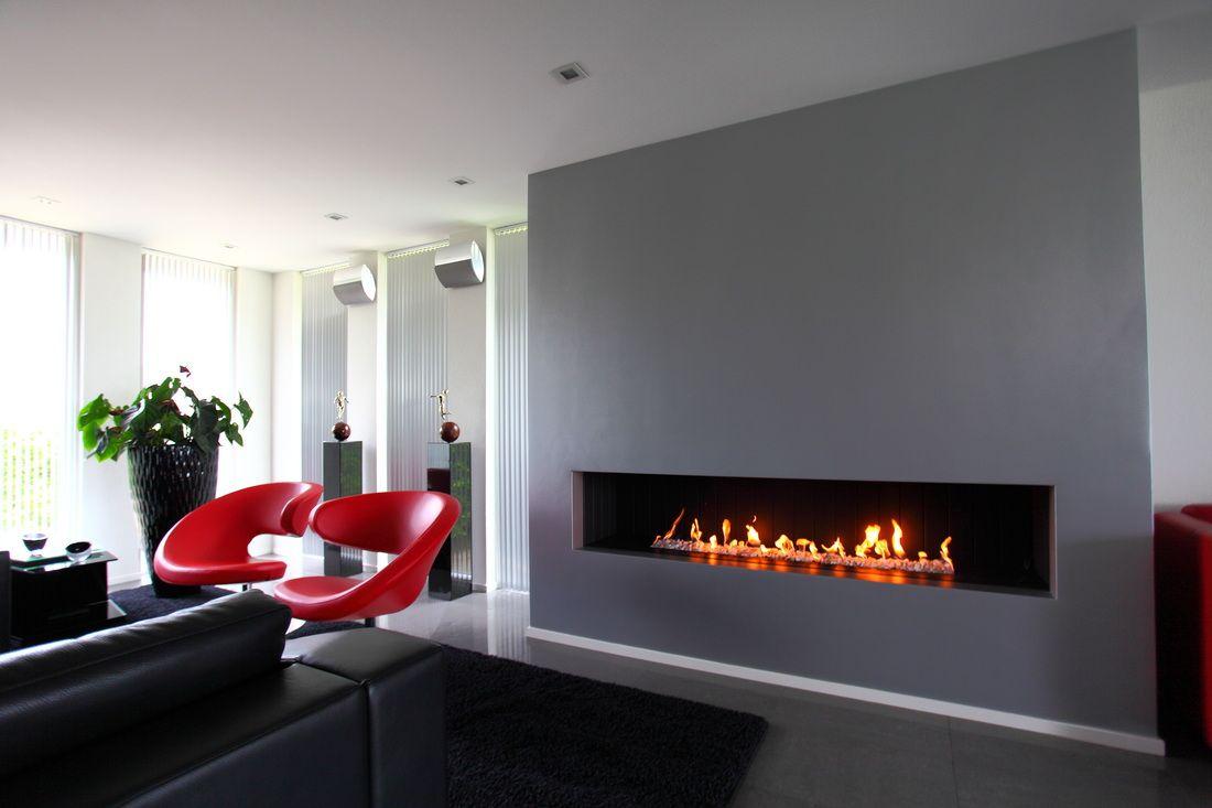 Elektrische open haard modern google zoeken woonkamer pinterest haard modern en open - Open haard moderne ...