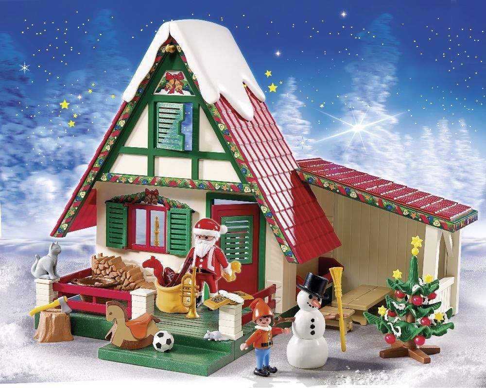 Playmobil navidad casa de pap noel playset 5976 for Casa moderna 4279
