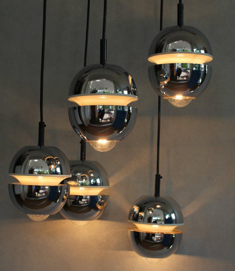 Best Alte Kaskade Vintage Lampe Er Jahre With Vintage Lampen