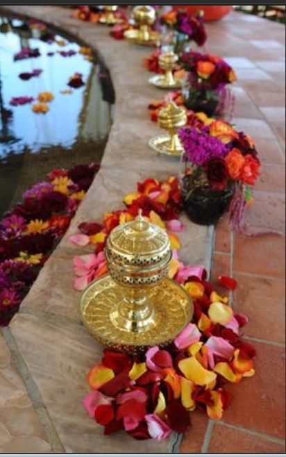 Poolside In Morocco: Decor For Diwali Party