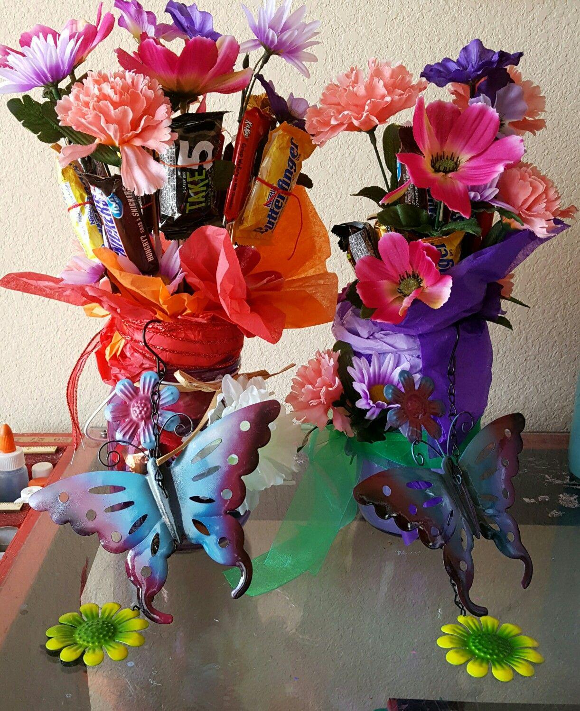 Candy flower bouquet candy bouquets pinterest candy bouquet candy flower bouquet izmirmasajfo Choice Image