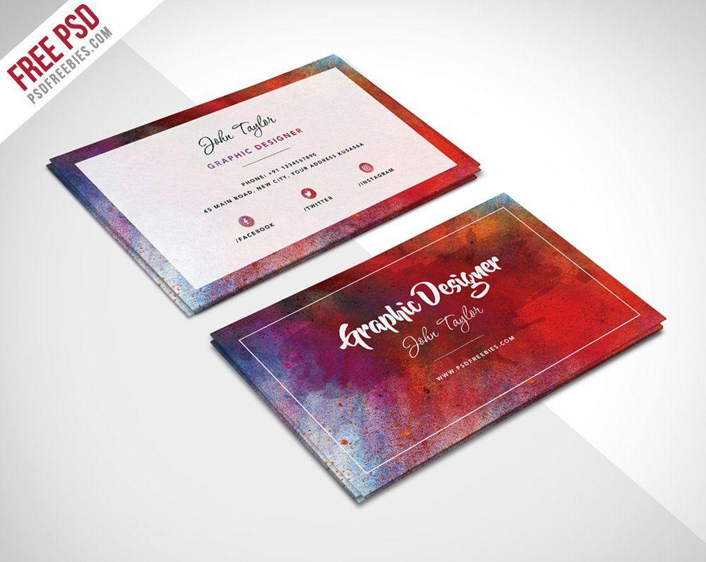 100 Free Business Card Templates Designrfix Com Business Card Template Psd Free Business Cards Free Business Card Design Templates