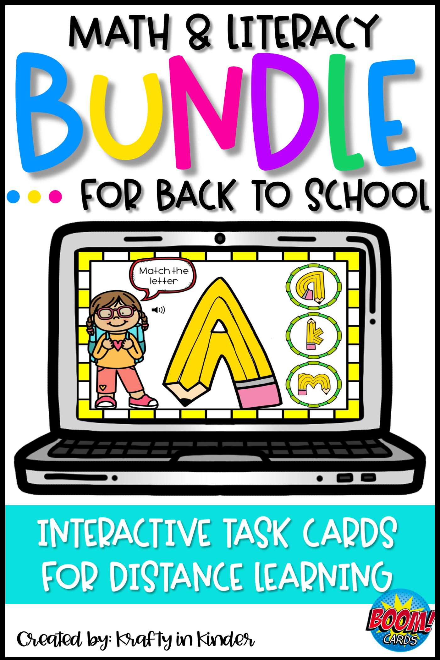 This No Prep Bundle Of Math And Literacy Games Are Perfect