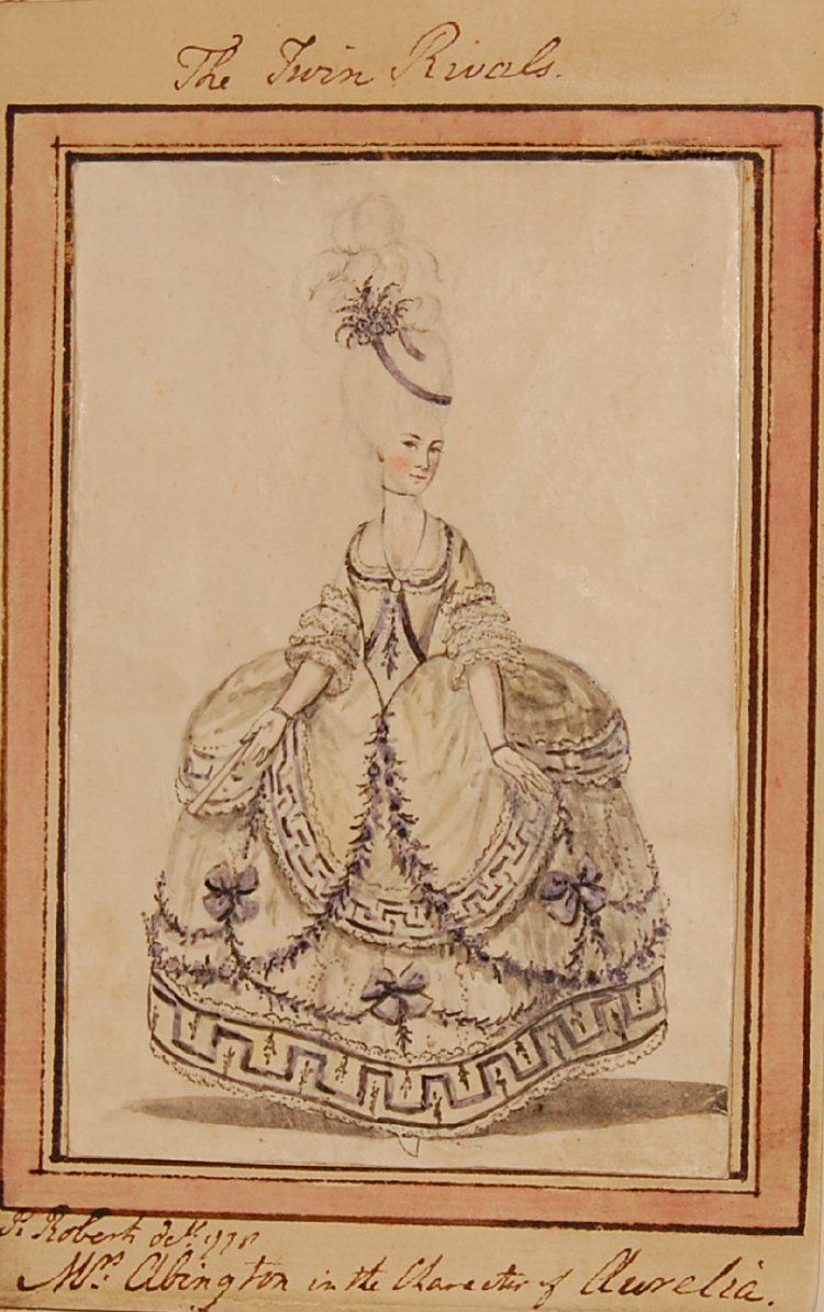 Mrs Abington in the character of Miss Prue, from William Congreve's 'Love for Love', study for Bell's British Theatre
