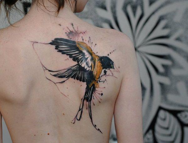f848e2d3442cc gorgeous watercolour swallow tattoo- artist unknown by me ...