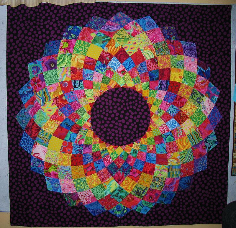 Giant Dahlia Quilt Images : Free Giant Dahlia pattern and follow-along instructions Dahlia, Patterns and Quilt tutorials