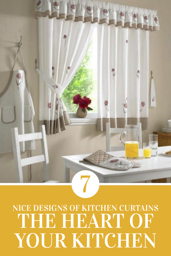 7 Nice Designs Of Kitchen Curtains The Heart Of Your Kitchen Kitchen Curtains Farmhouse Kitchen Curtains Diy Kitchen