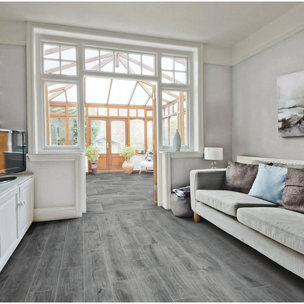 Rockwood Gray Wood Plank Porcelain Tile Wood Planks