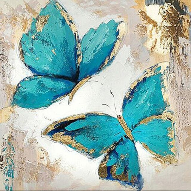 Butterfly 5d diamond painting - #butterfly #diamond #painting - #drawingdecoration