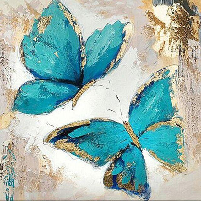 Schmetterling 5d Diamantmalerei - Malerei Kunst