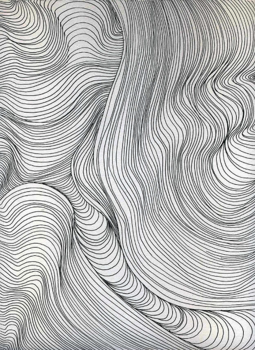Line Art Waves : Y h t p o g r a i c pinterest