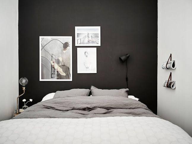 10 Dark bedroom walls Dunkle schlafzimmer wände