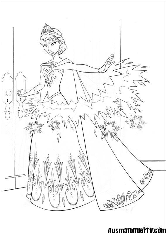 Gratis Ausmalbilder Eiskonigin Disney Prinzessin Malvorlagen Ausmalbilder Ausmalbild Eiskonigin