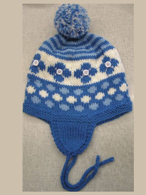 Pickin Daisies Childs Earflap Hat Quick Easy Pattern Pdf Easy