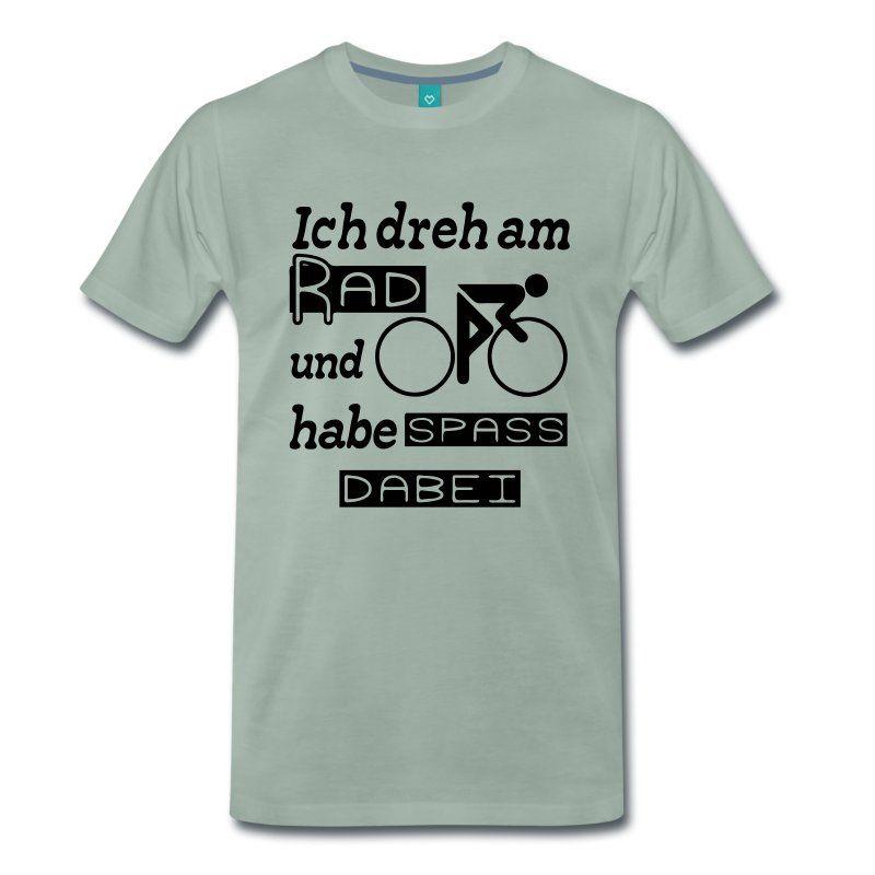 Ich dreh am Rad und habe Spaß dabei. Witzige Shirts und Geschenke für alle…