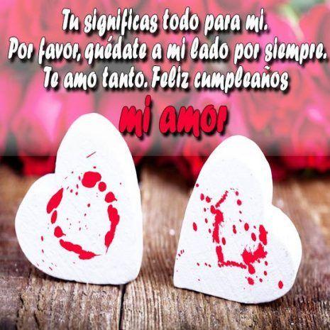 Feliz Cumpleanos Mi Amor Imagenes Y Frases Romanticas Feliz