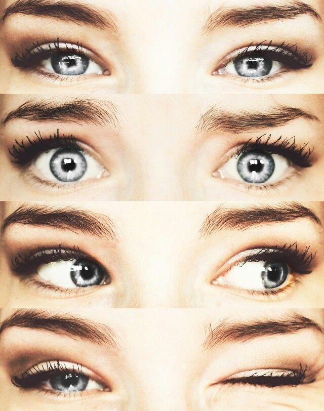 Grey Eyes Tumblr Reference Augen Graue Augen Make Up
