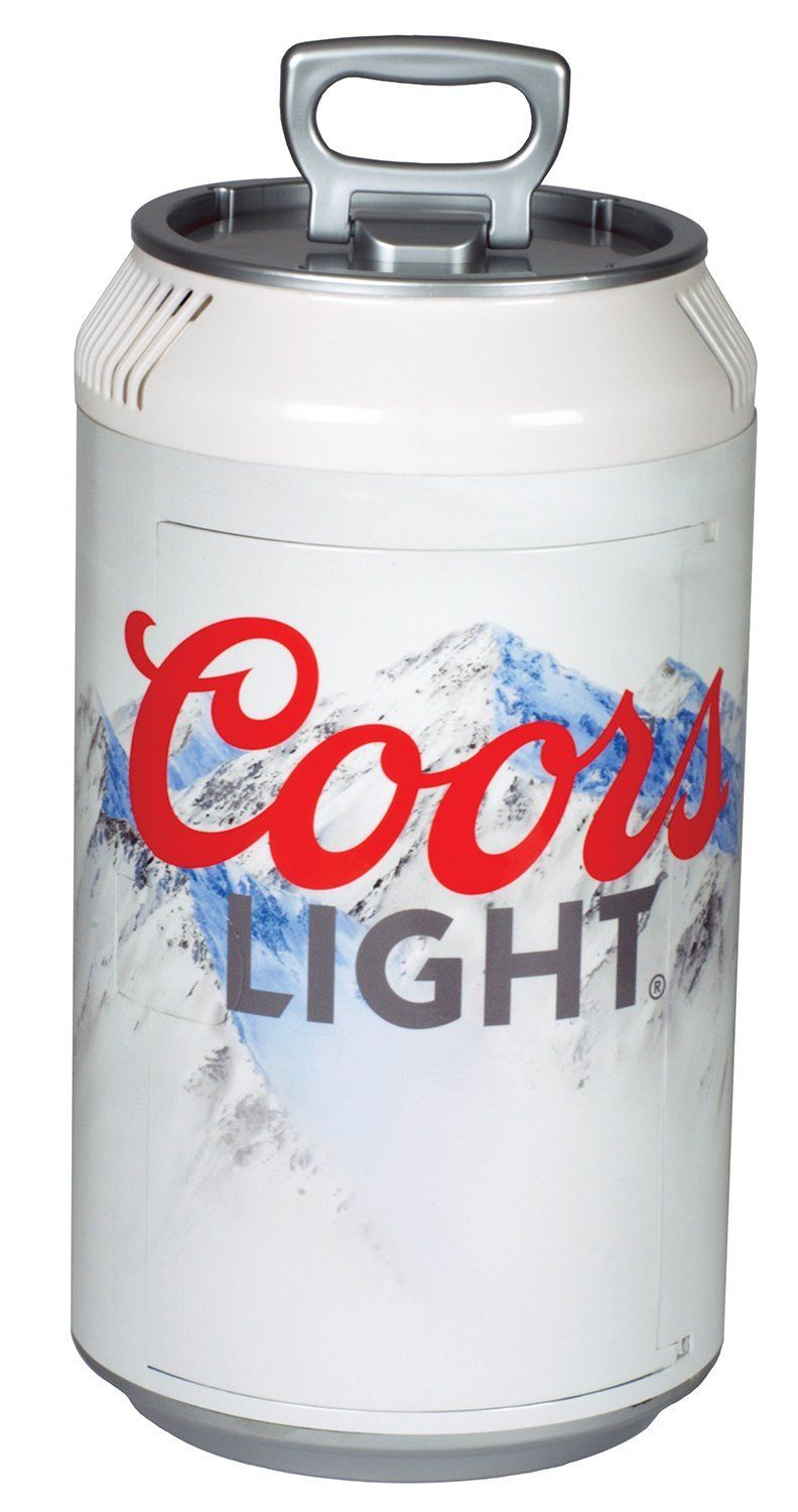 Koolatron Cl06 Coors Light Mini Can Fridge White This Is An Amazon Affiliate Link Check Out The Image By Visiting Beverage Refrigerator Mini Fridge Canning