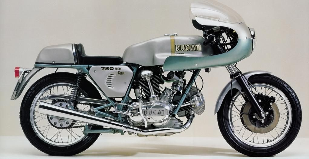 "Ducati 750 SS ""Greenframe"""