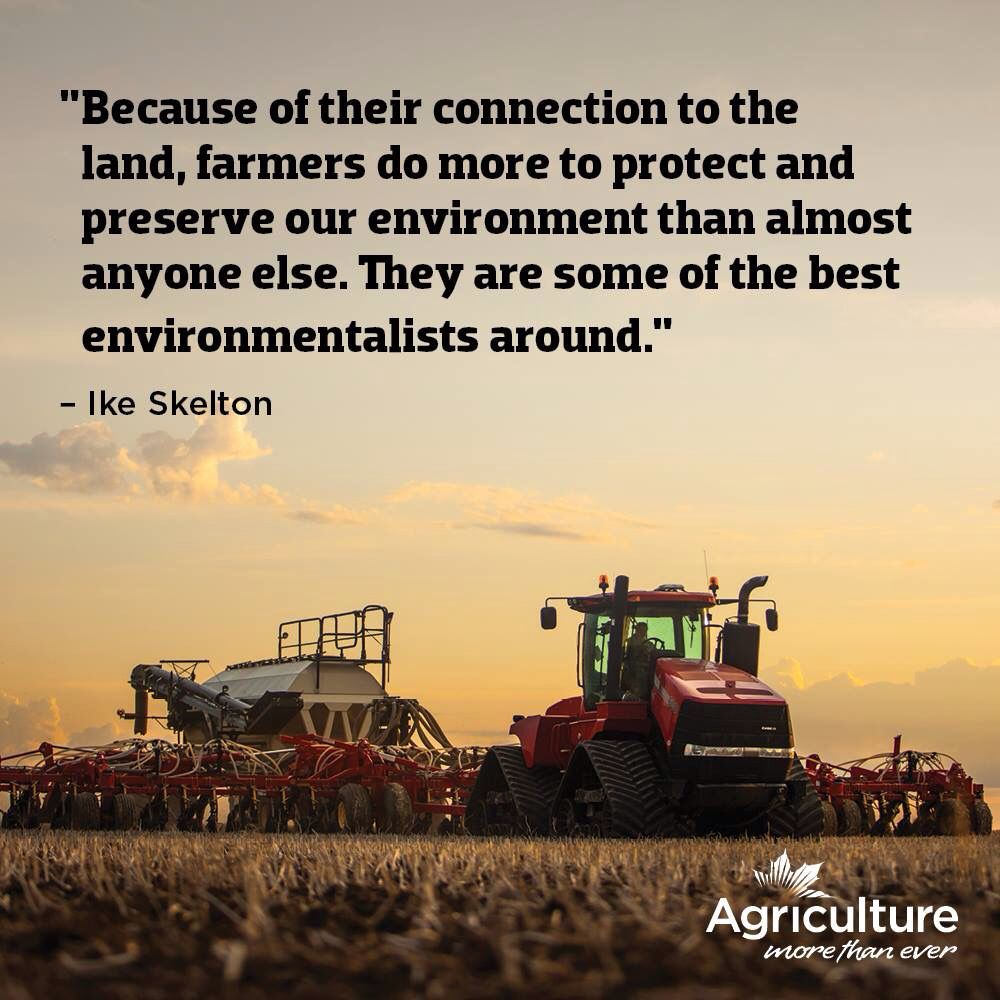 Farmers Day Quotes: Farmers Are Environmentalists