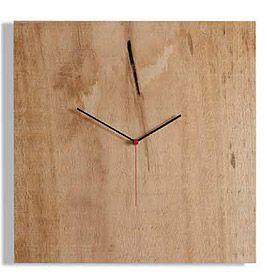 beautiful, simple wooden Nature clock