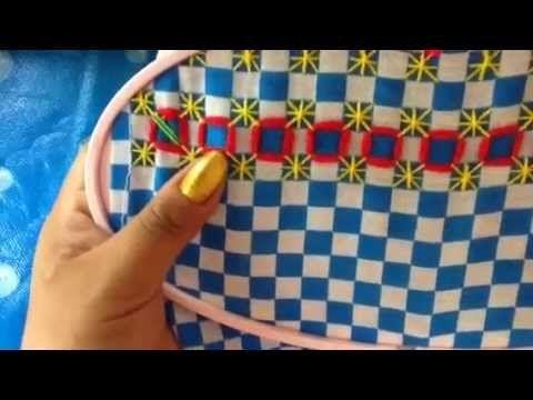 - 16 bordado español con cony - YouTube