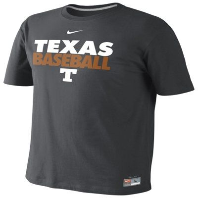 competitive price ec5ea 54211 Nike Texas Longhorns Official Baseball Practice Performance ...