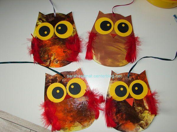th me hibou chouette maternelle recherche google owl crafts pinterest oto o tardor et. Black Bedroom Furniture Sets. Home Design Ideas