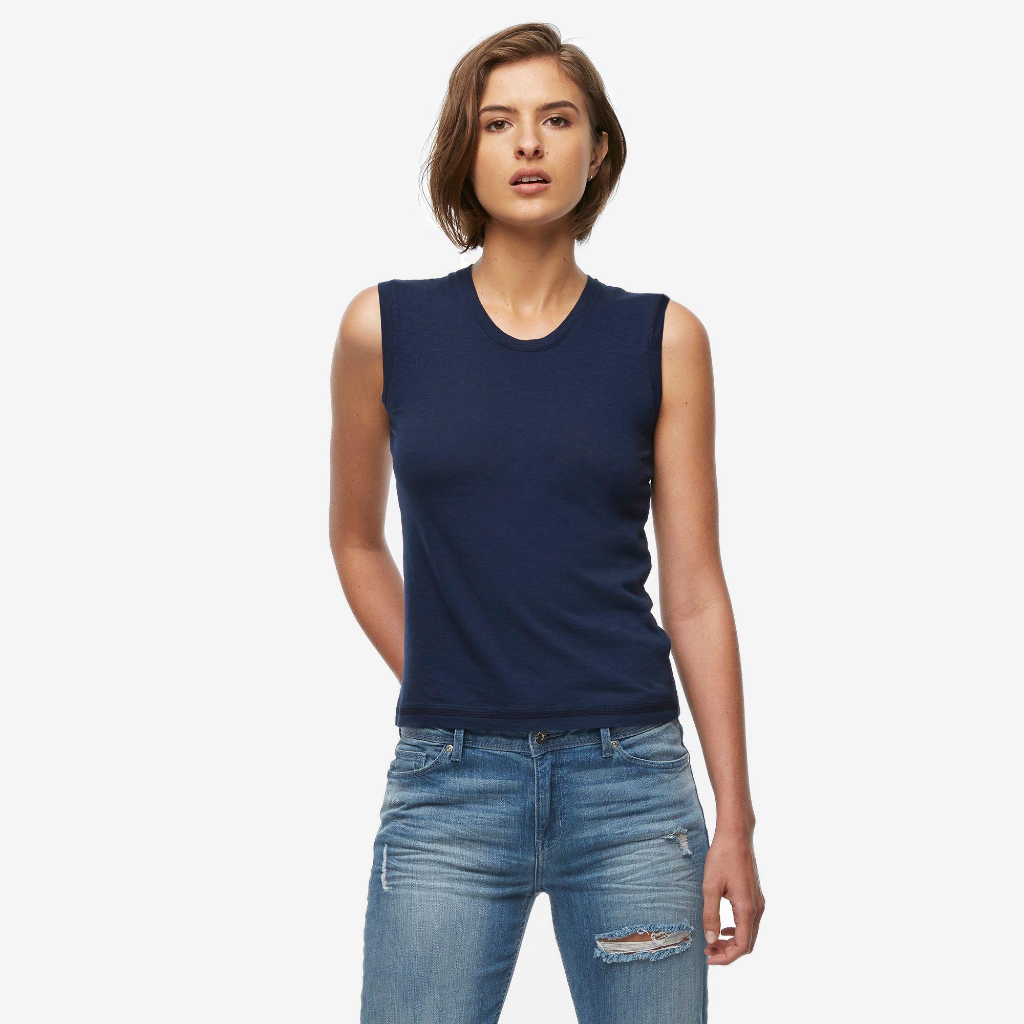 Slub Muscle T-Shirt |American Giant