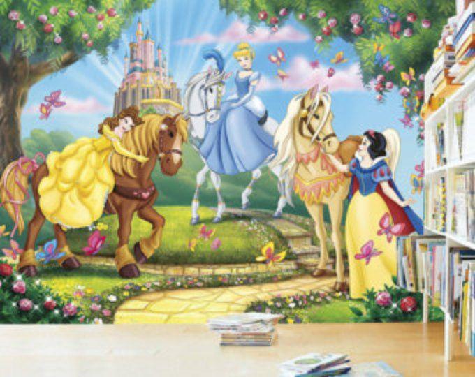 Princess Wall mural, Wallpaper, Wall décor, Wall decal