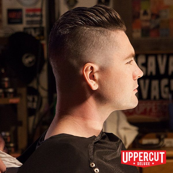 Messy Undercut Slick Back, styled and finished with Uppercut Deluxe Matt  Clay. For more