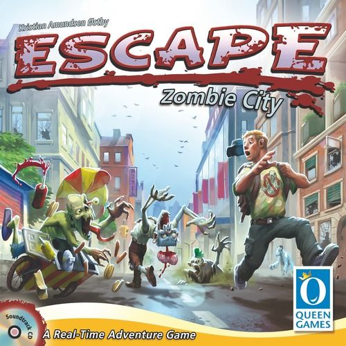 Escape Zombie City Image Boardgamegeek