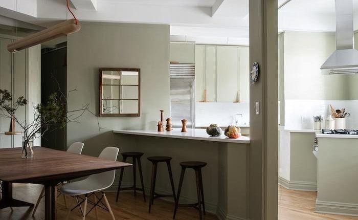 Zachte kleur home and garden keuken