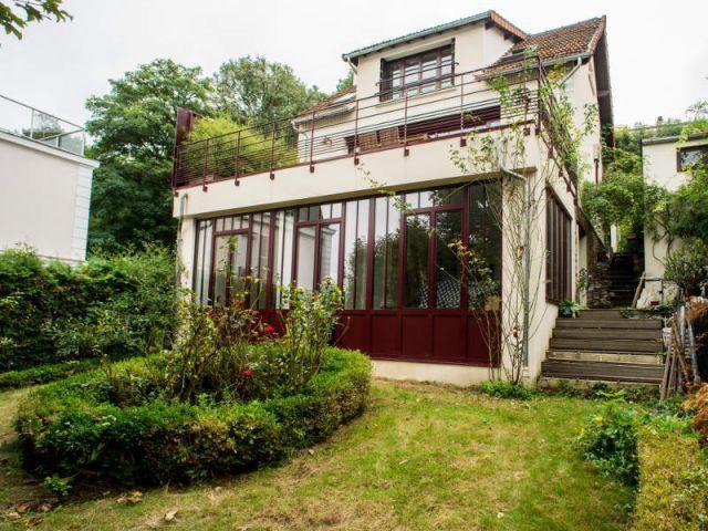 Une maison ouvrière su0027offre une extension vintage et lumineuse