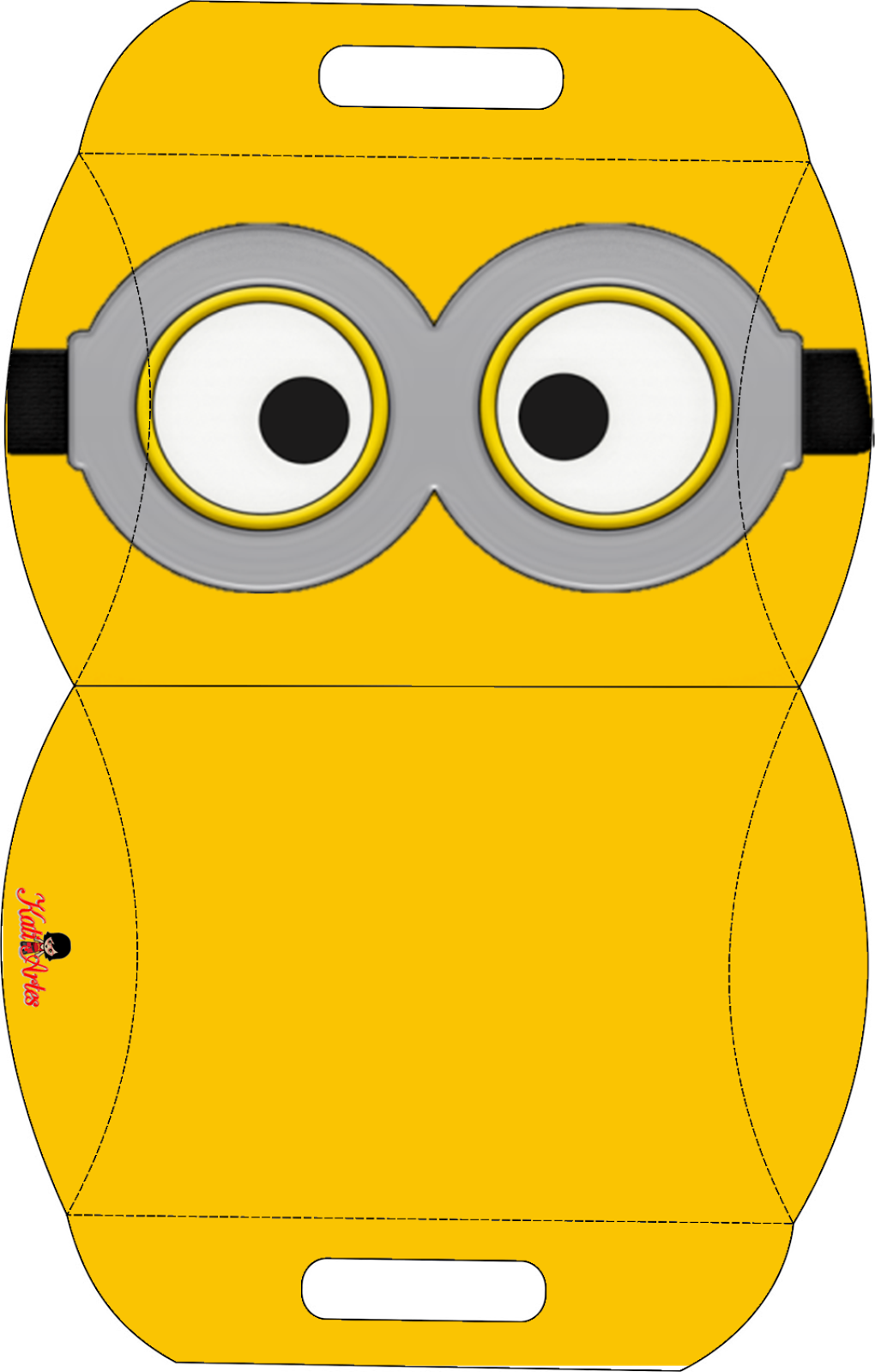 It is an image of Printable Minion Template regarding box