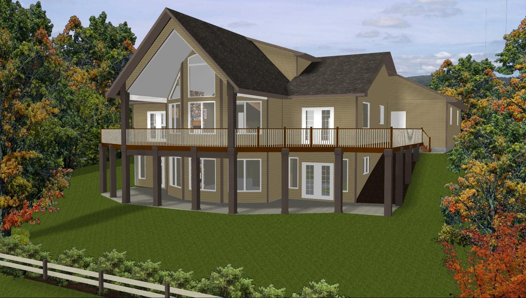 Image Detail For   Daylight Basement House Plans: Daylight Basement House  Plans   Walk . Nice Look