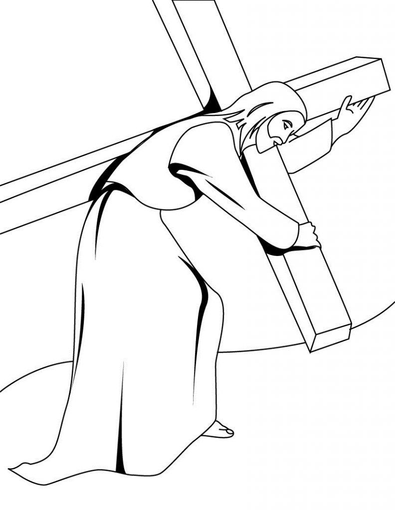 Lent Coloring Pages Best Coloring Pages For Kids Jesus Coloring Pages Cross Coloring Page Easter Coloring Pages