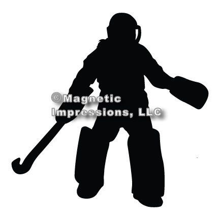 Field Hockey Goalie Car Magnet Field Hockey Goalie Hockey Goalie Field Hockey