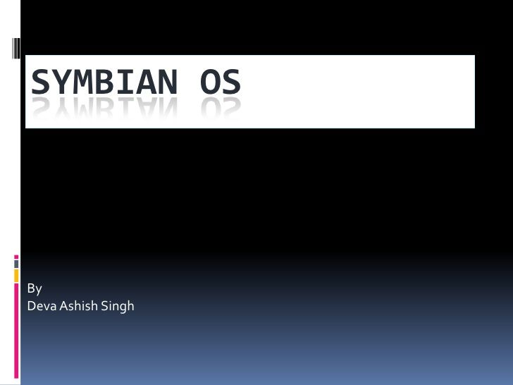 This presentation tells you What is Symbian and How its OS work and core functionality of it.