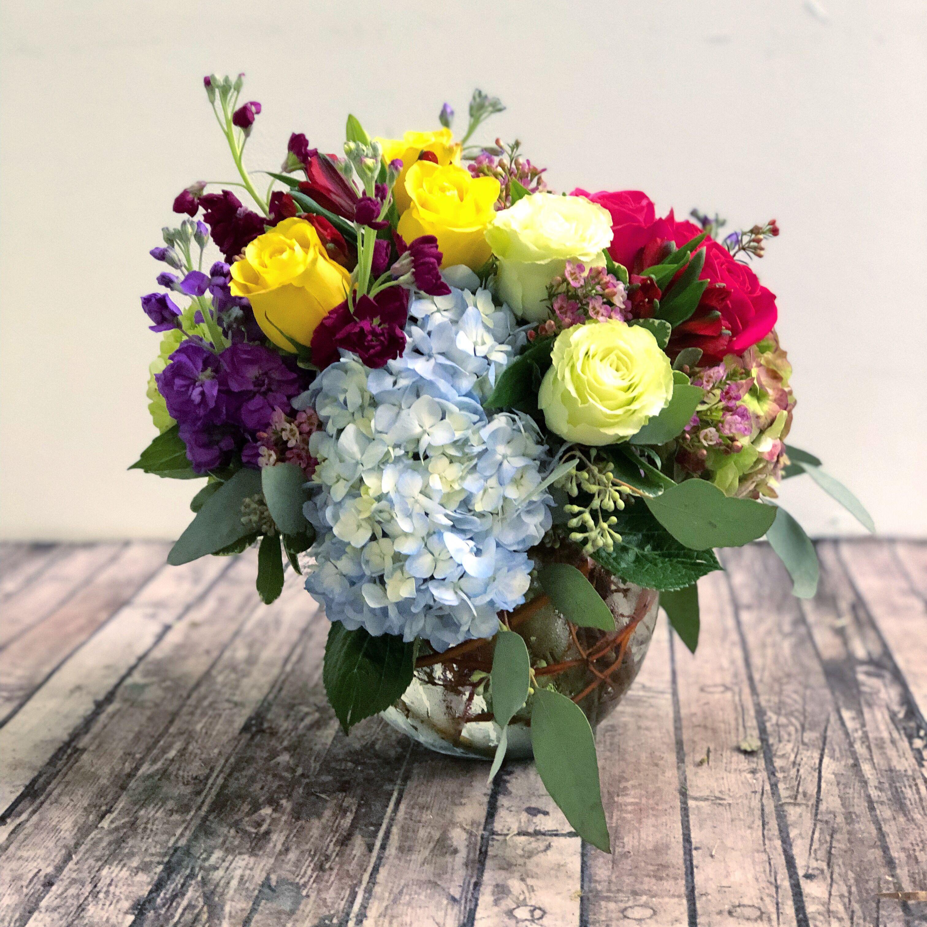 Bubble Of Flowers Flower Arrangements Flower Delivery Flowers