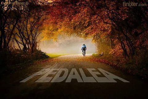 Siempre pedaleando!!