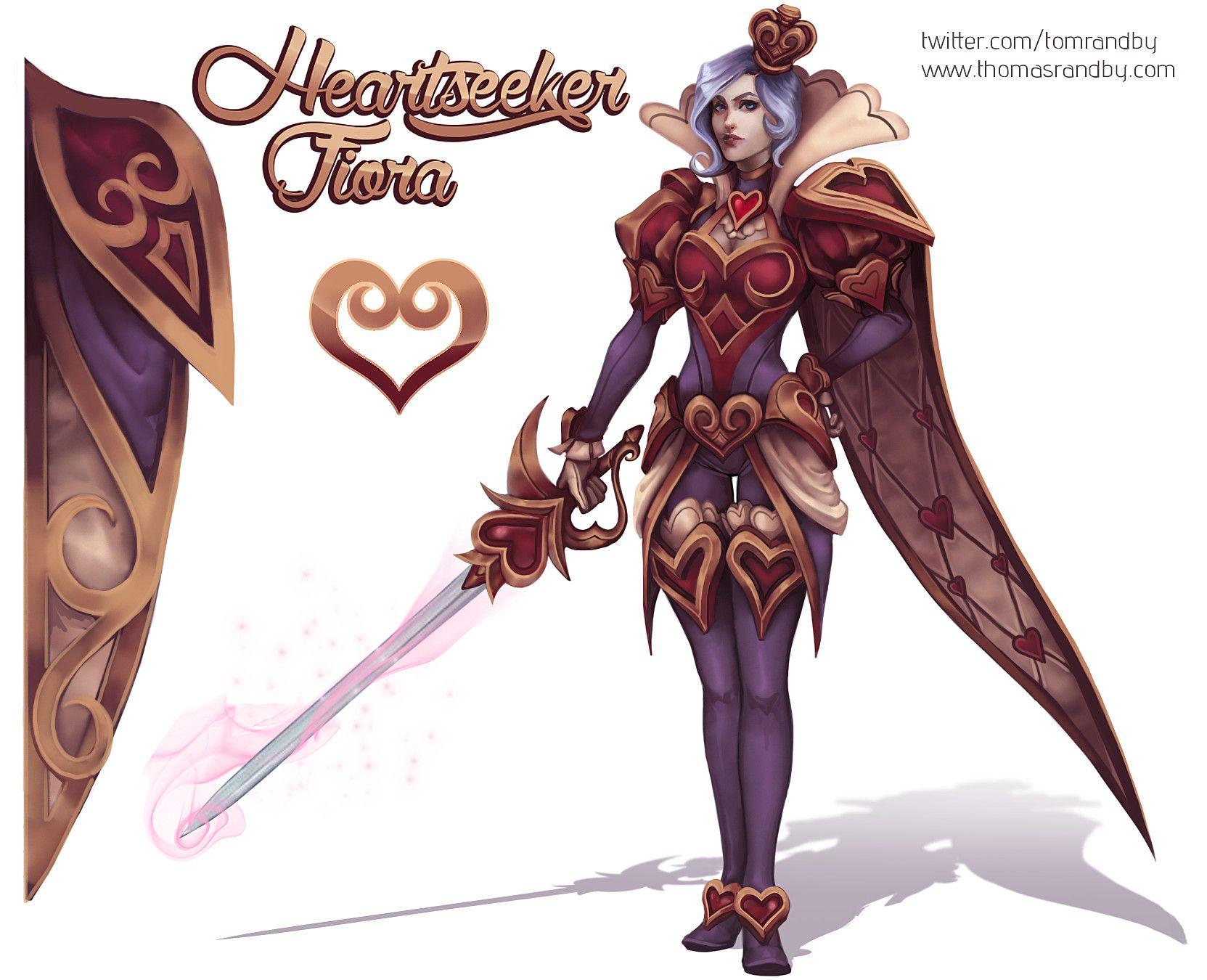 ArtStation - Heartseeker Fiora, Thomas Randby